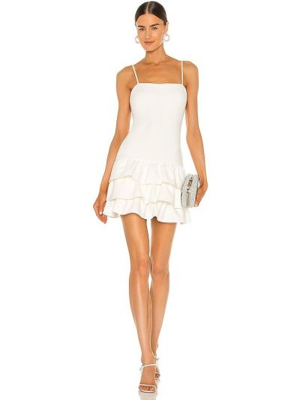 Белое платье с подкладкой на молнии Likely