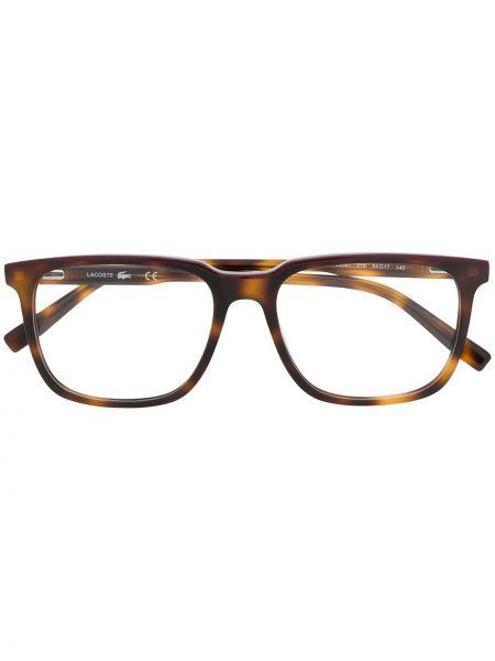 Srebro oprawka do okularów plac Lacoste