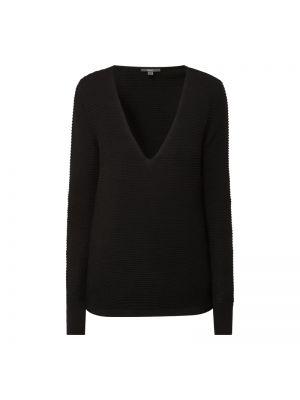 Czarny sweter w paski bawełniany Esprit Collection