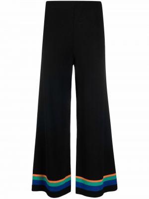 Укороченные брюки - черные Opening Ceremony
