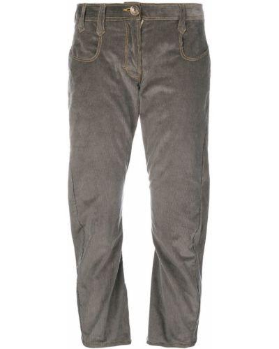 Брюки серые брюки-хулиганы Atelier Bâba