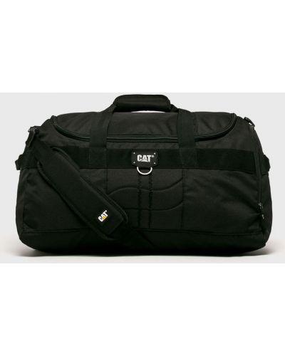 Текстильная сумка через плечо - черная Caterpillar