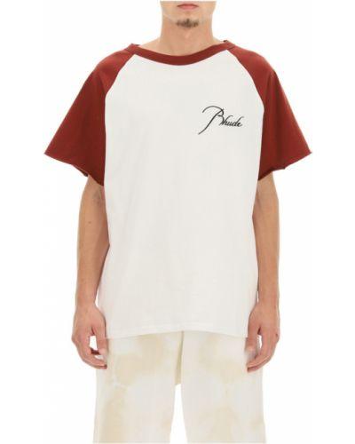 Beżowa t-shirt Rhude