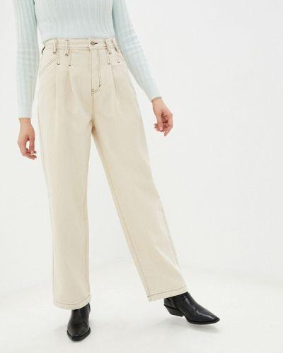 Прямые белые джинсы Befree