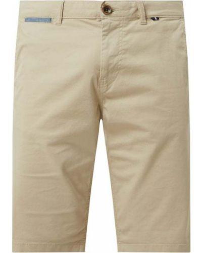 Beżowe spodnie bawełniane Tom Tailor