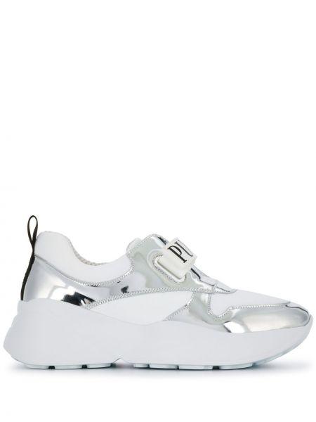 Sneakersy białe z logo Emilio Pucci