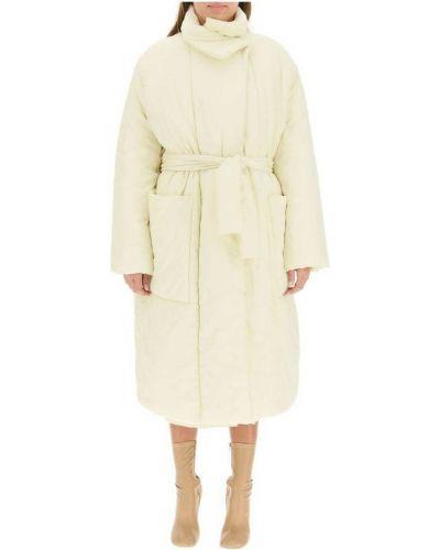 Płaszcz bawełniany - beżowy Lemaire