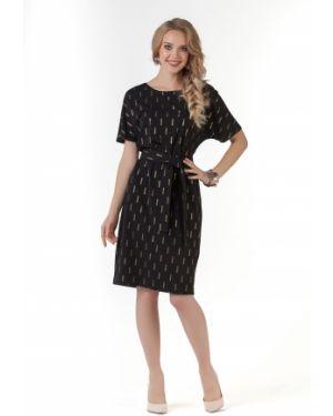 Платье миди с поясом на торжество Zip-art