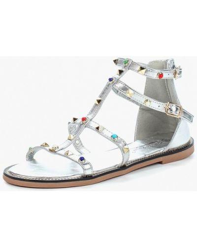 Сандалии серебряного цвета Vivian Royal