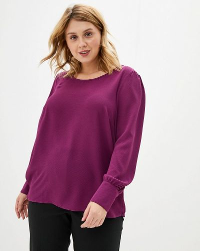 Блузка фиолетовый Zizzi