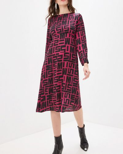 Платье розовое прямое Miss Miss By Valentina