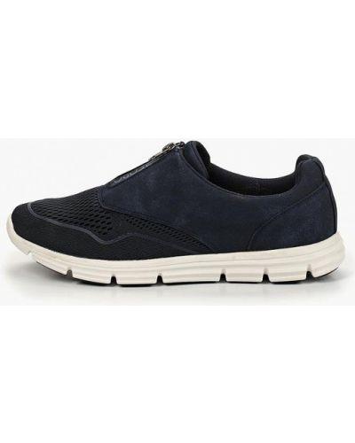 Кроссовки низкие синий Tesoro