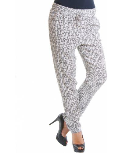 Белые брюки из вискозы Patrizia Pepe