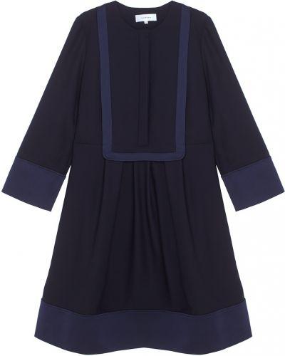 Платье синее Carven