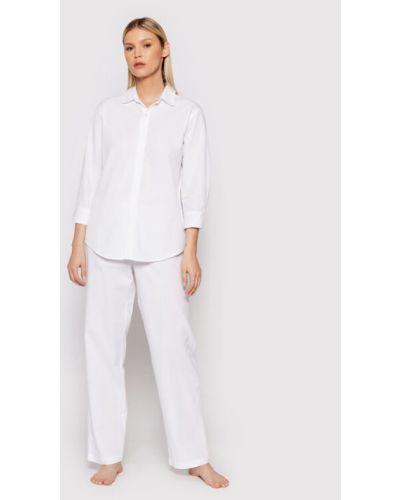 Piżama - biała Lauren Ralph Lauren