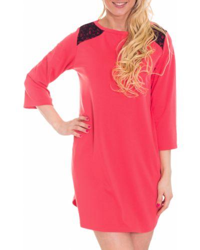 Платье для беременных коралловый красный Lacywear