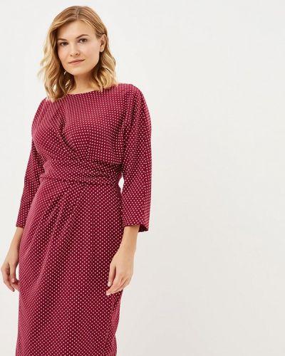 Повседневное платье осеннее Goddiva Size Plus