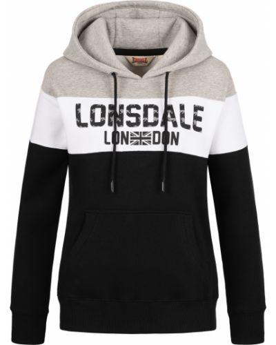 Черное худи Lonsdale