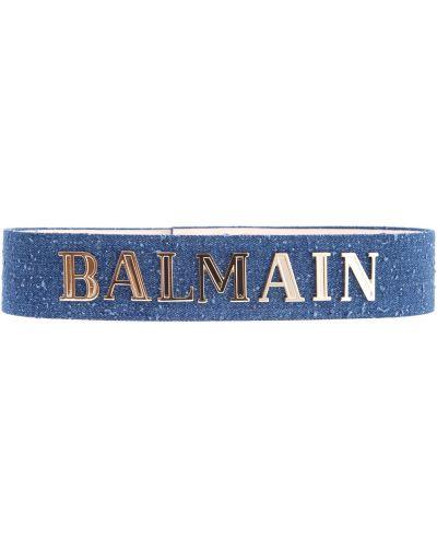 Ремень с заклепками металлический Balmain