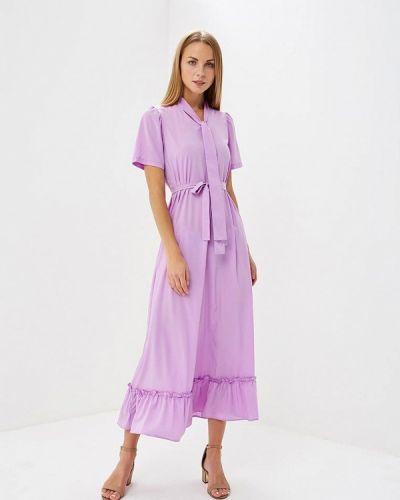 Фиолетовое платье весеннее Trendyangel