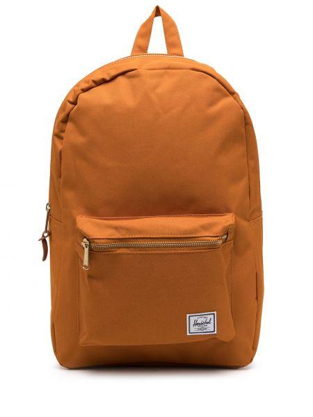 Klasyczny pomarańczowy plecak w paski Herschel Supply Co.