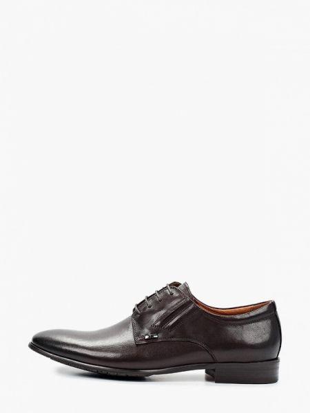 Кожаные коричневые туфли Rossini Roberto