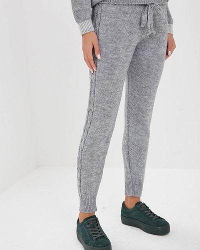 Серые брюки повседневные Perfect J