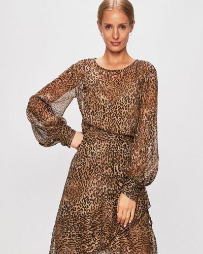 Платье длинное прозрачное Trussardi Jeans