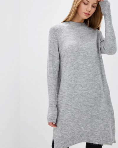Джинсовое платье осеннее серое Tom Tailor Denim