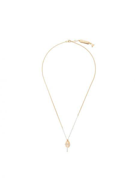 Желтое ожерелье с подвесками Coup De Coeur