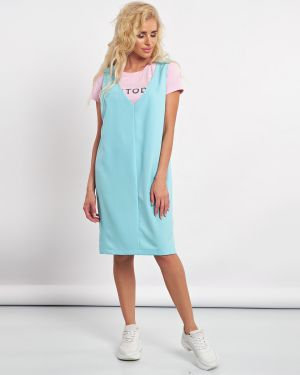 Летнее платье с V-образным вырезом платье-сарафан Jetty