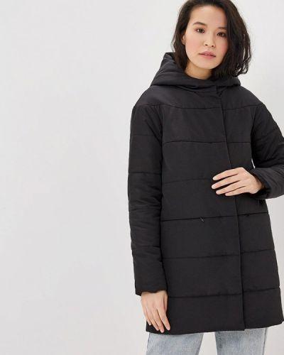 Утепленная куртка демисезонная черная Annborg