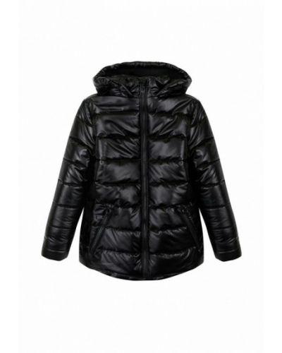 Утепленная черная куртка Garnamama