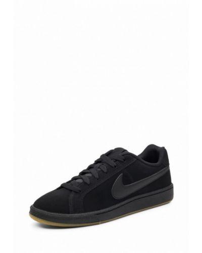 Низкие кеды замшевые резиновые Nike