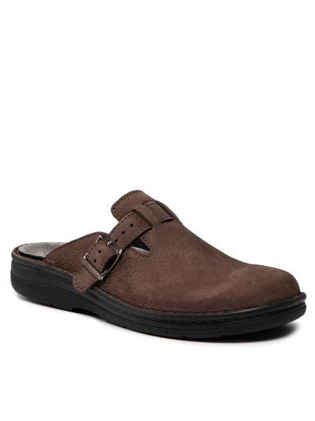Brązowe sandały Berkemann