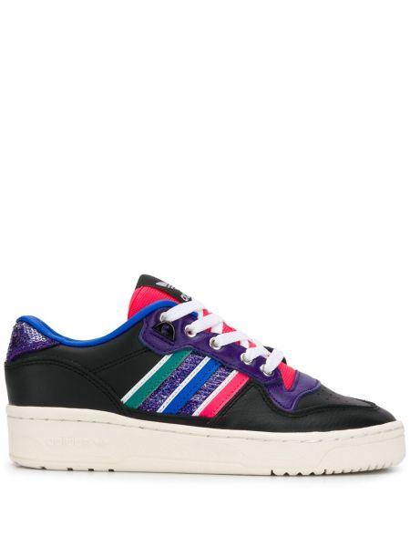 Топ кожаный ажурный Adidas