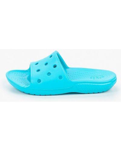 Бирюзовые сланцы Crocs