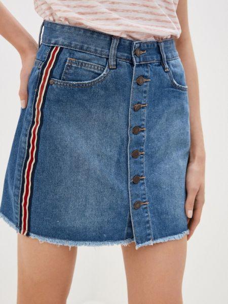 Джинсовая юбка - синяя Urban Surface