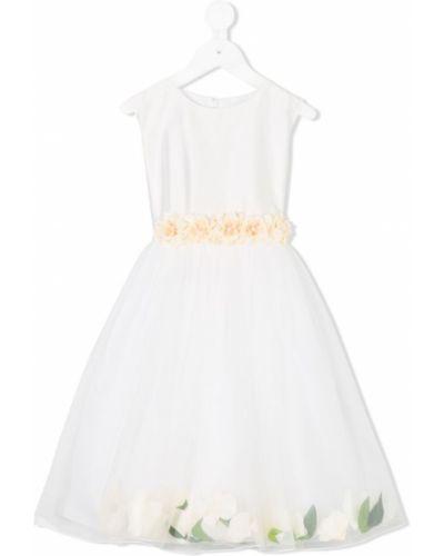 Пышное платье из фатина с рукавами Lesy