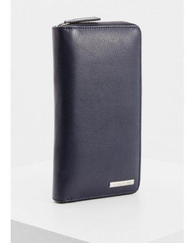 Синий кошелек Cerruti 1881