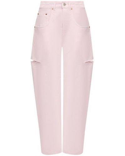 Хлопковые джинсы - розовые Forte Dei Marmi Couture