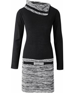 Платье вязаное однотонное Bonprix