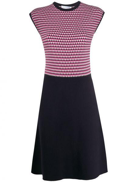Платье мини короткое - синее Boss Hugo Boss