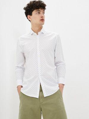 Белая рубашка с длинными рукавами Jimmy Sanders