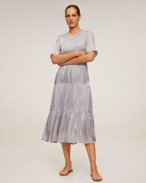 Платье мини миди с поясом Mango