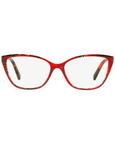 Czerwone okulary Alain Mikli
