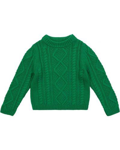 Кашемировый свитер - зеленый Bonpoint
