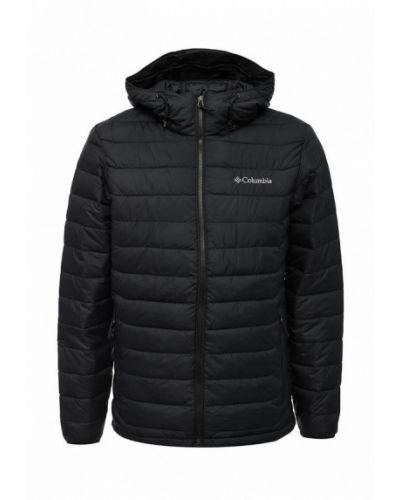 Утепленная куртка демисезонная черная Columbia