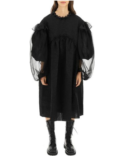 Czarna sukienka Simone Rocha