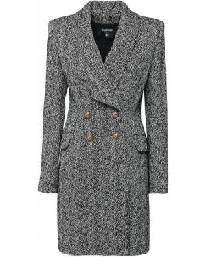 Płaszcz z kieszeniami zapinane na guziki Balmain